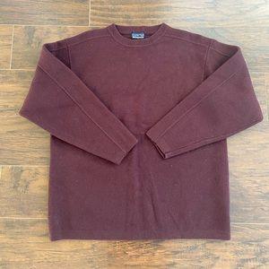 Men's Patagonia wool sweater sz XL